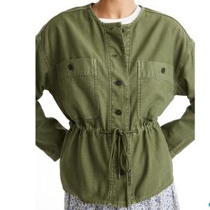 💕HP💕Madewell army green utility jacket